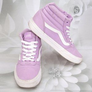 Vans Old Skool Skate Mid-Top Lilac Sneakers Shoes